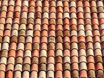 Tile roof background Stock Photo