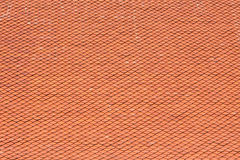 Tile roof of Buddhist temple Stock Photo
