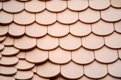 Tile roof Stock Photography