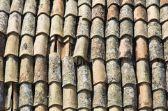 Tile roof. Royalty Free Stock Photography
