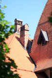Tile roof Royalty Free Stock Image