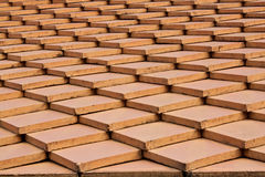 Tile Roof Design Royalty Free Stock Images