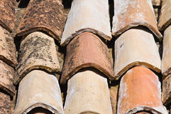 Tile roof. Royalty Free Stock Photos