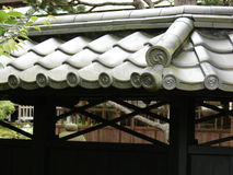 Tile roof Royalty Free Stock Images