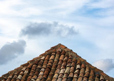 Tile roof Royalty Free Stock Photo