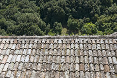 Tile Roof. Royalty Free Stock Photo