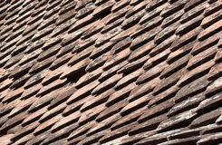 Tile roof - RAW format Stock Images