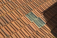 Tile roof Stock Image