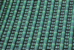 Tile and roof structure royalty free stock photo