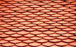 Tile roof of the temple Royalty Free Stock Images