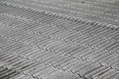 Tile roof texture for background.  Stock Photos