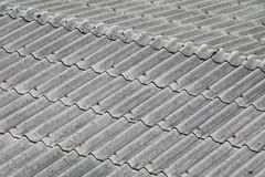 Tile roof texture for background.  Royalty Free Stock Photography