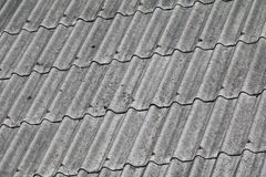 Tile roof texture for background.  Stock Images