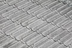 Tile roof texture for background.  Royalty Free Stock Images