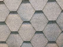 Tile roof texture background surface natural color , process in vintage style stock image