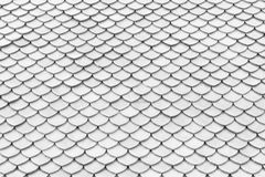 Tile roof texture Stock Photo