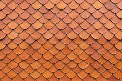 Tile roof texture royalty free stock photo