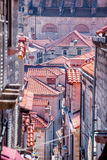 Tile roofs of Dubrovnik Royalty Free Stock Photos