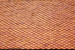 Tile roofs, patterns Royalty Free Stock Photos