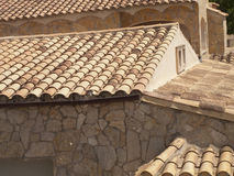 Tile rooftops Royalty Free Stock Image