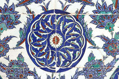 Tile in Rustempasa Mosque, Istanbul, Turkey Stock Photography
