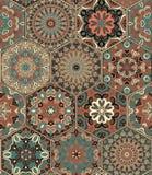 Tile Set Hexagon Weave Royalty Free Stock Photography