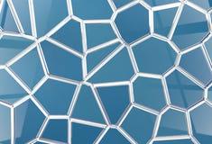 Tile shine background tessellation Stock Image