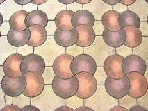 Tile on sidewalk Stock Photo