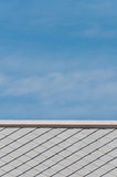 Tile and sky Royalty Free Stock Image