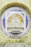 Tile Source With Angels Stock Photography