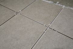 Tile Spacers Stock Image