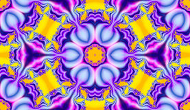 Tile Spring fun. A graphic / fractal design created with Corel 6 Royalty Free Stock Images