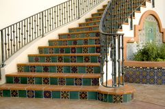 Tile Stairway Stock Photos