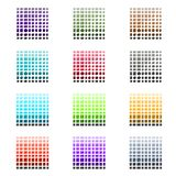 Tile and Stone Color Palette Set Royalty Free Stock Photos