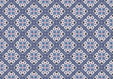 Tile and stone seamless pattern. mosaic pattern. vector illustration