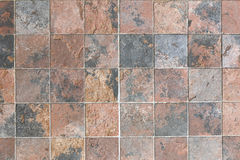 Tile of stone tracery square. Royalty Free Stock Photo