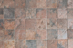 Tile of stone tracery square. Royalty Free Stock Image