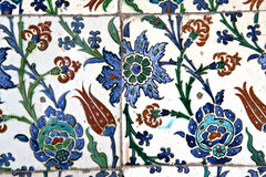 Tile in Sultanahmet Mosque Stock Photos