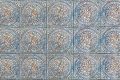 Tile symmetry pattern texture. Texture of a symmetry tile pattern Royalty Free Stock Photo