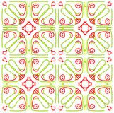 Tile texture. Vector texture in green and red. color as you wish. You can tile it Stock Images