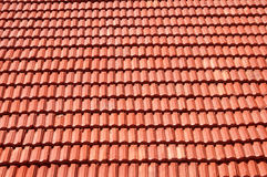Tile texture. Red roof terracotta tile texture Royalty Free Stock Photography