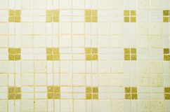 Tile Texture. A retro ceramic tile texture background image Royalty Free Stock Images