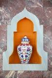 Tile vase Stock Image