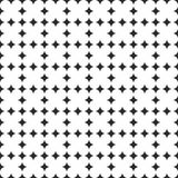 Tile vector black and white pattern Royalty Free Stock Images