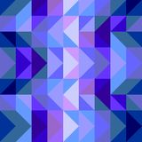 Tile vector blue pattern, texture or background Stock Image