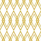 Tile vector pattern or golden yellow and white background. Tile vector pattern or golden yellow and white wallpaper background Stock Images