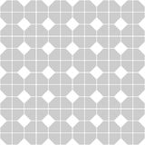Tile vector pattern with gray and white background Stock Images