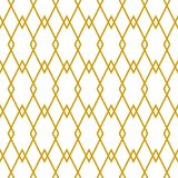 Tile vector pattern or golden yellow and white background. Tile vector pattern or golden yellow and white seamless geometric background wallpaper Royalty Free Stock Image
