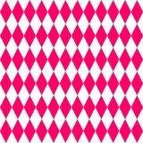 Tile vector pattern or pink and white background Royalty Free Stock Photography
