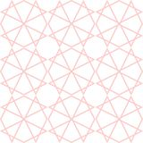 Tile vector pattern or pink and white wallpaper background Royalty Free Stock Photos